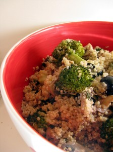 Quinoa Salad Close
