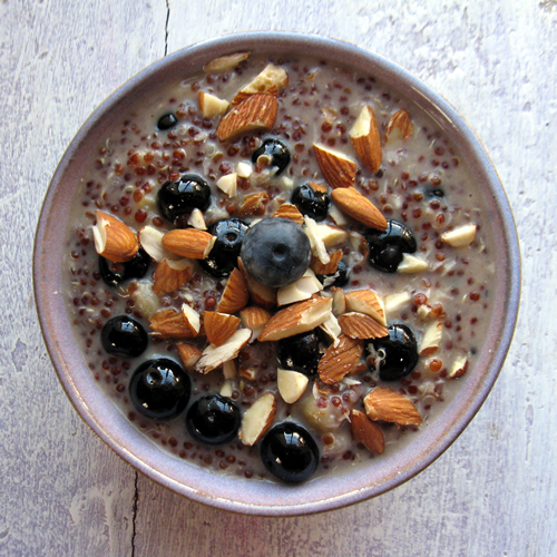 Quinoa Breakfast Pudding
