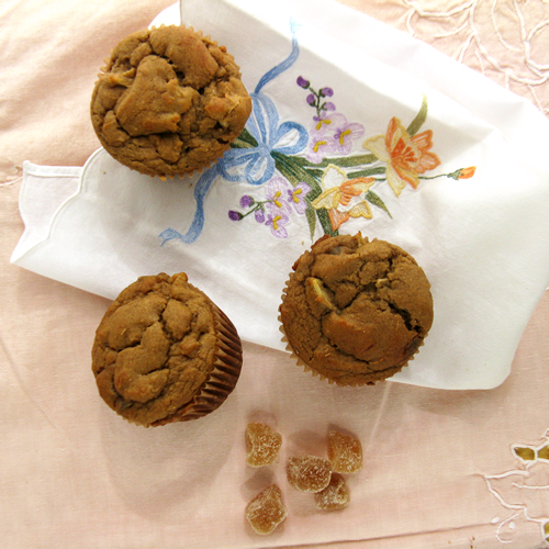 Apple Ginger Squash Muffins