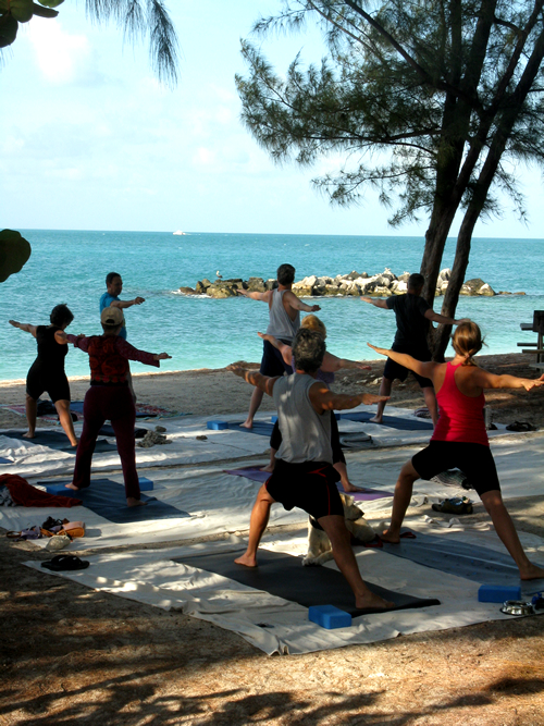 Yoga Class with Yoga on the Beach