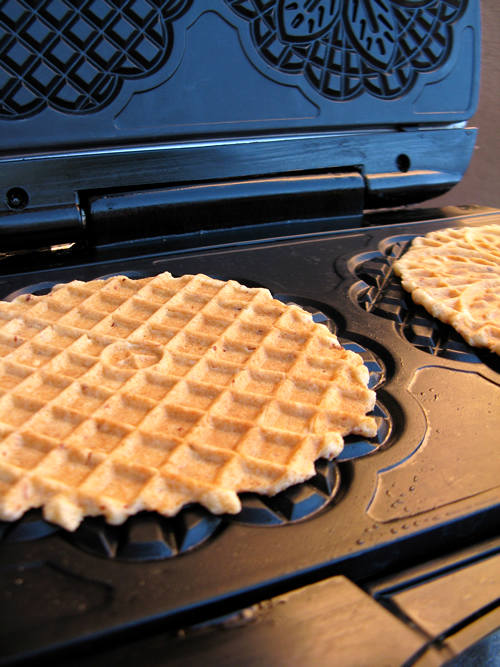 Cooked Gluten Free Pizzelle