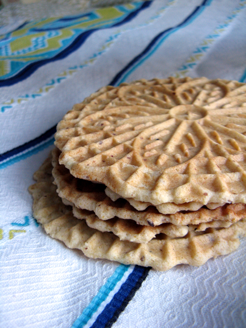 Pizzelle Stack